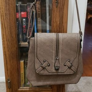 Unbranded EUC faux leather crossbody purse